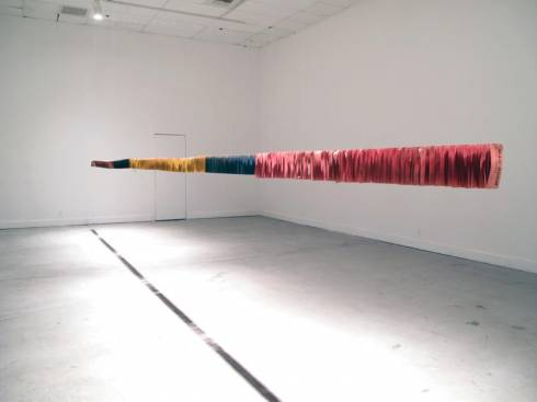 The Shortest Distance Between Two Points at Sfeir-Semler Gallery