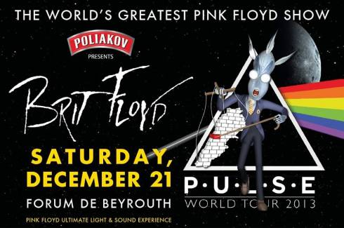 Brit Floyd: P-U-L-S-E 2013 at Forum de Beyrouth