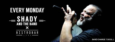 BistroBar Live: Shady and The Band