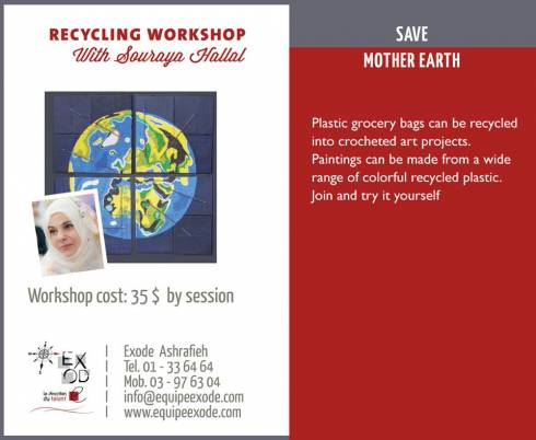 'Save Mother Earth' Workshops at Exode