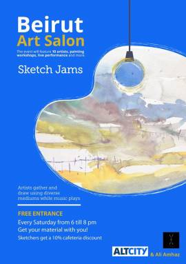 Beirut Art Salon - Sketch Jams