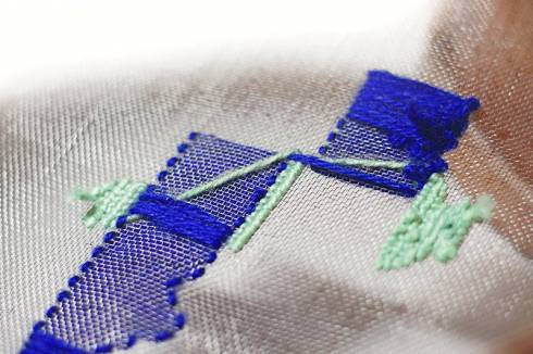 Embroidery workshop for children by Studio Kawakeb