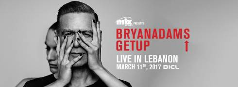 Bryan Adams Live in Lebanon