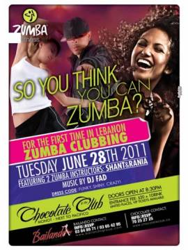It's That Time Again for ZUMBA