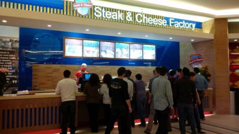 Steak and Cheese Factory
