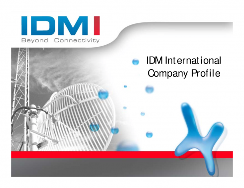 Inconet Data Management (IDM)