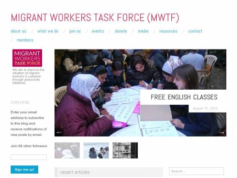 Migrant Workers Task Force (MWTF)