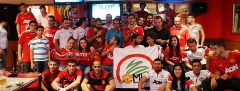 Lebanese Man Utd Fan Club Is Going to Turkey