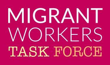 Migrant Worker's Task Force Looking for Volunteer Coordinater
