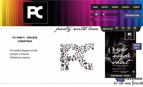 Party With Love with PC Party's Brand New Website