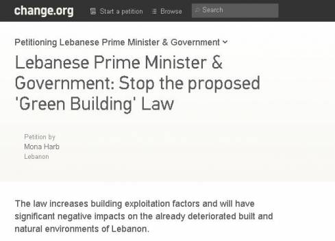 Petition Calling For Stop to Green Building Law Goes Viral