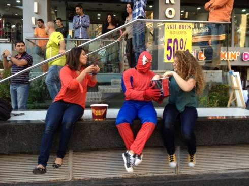 KFC and the Amazing Spider-man Promotion Take Lebanon by Storm