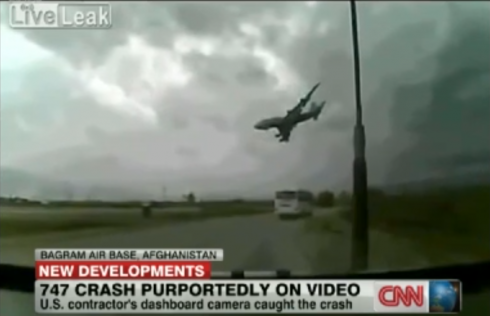Video of Plane Crash in Afghanistan Stuns