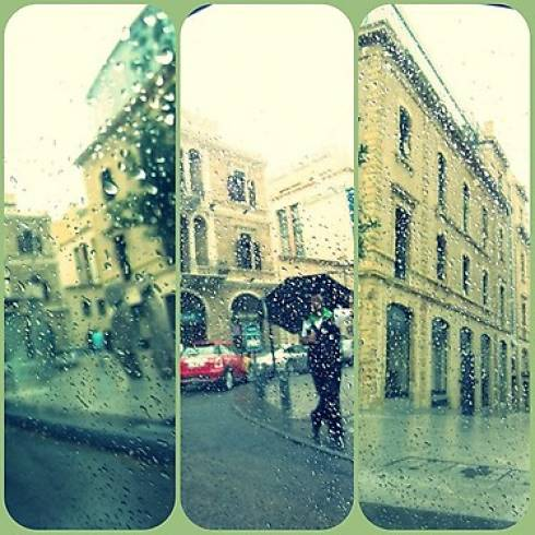 Rainy Day in Beirut
