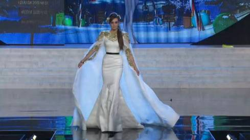 Rina Chibany Dazzles at Miss Universe Competition
