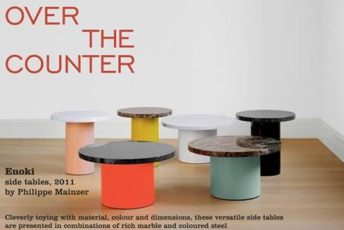 Cute Sidetables at Over the Counter