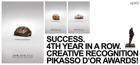 Spirit Wins Fourth Consecutive Pikasso d'Or Award