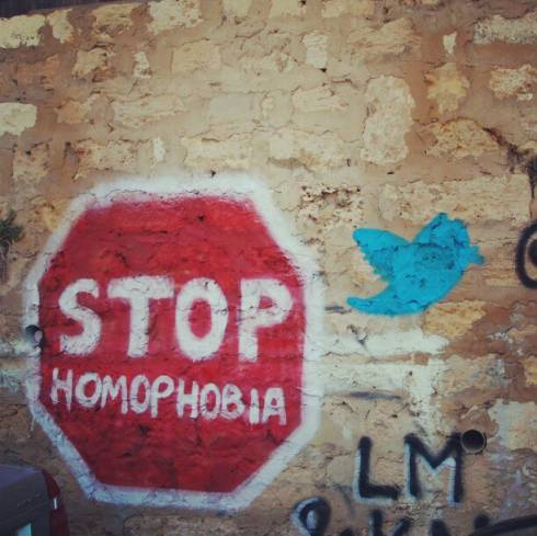 On the Wall: Stop Homophobia