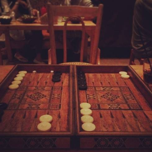 The Age Old Game of Tawleh
