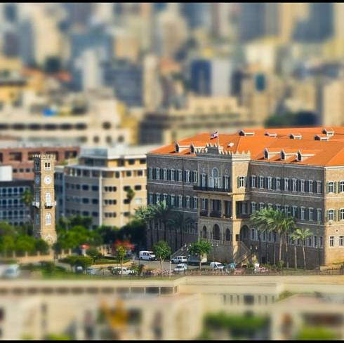 Beirut Through a Bird's Eye View