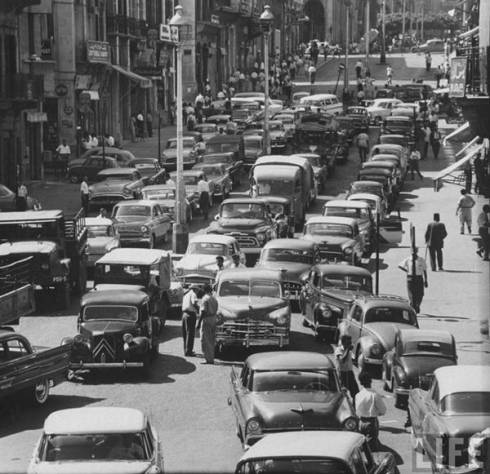 Beirut Traffic Jams Since 1958