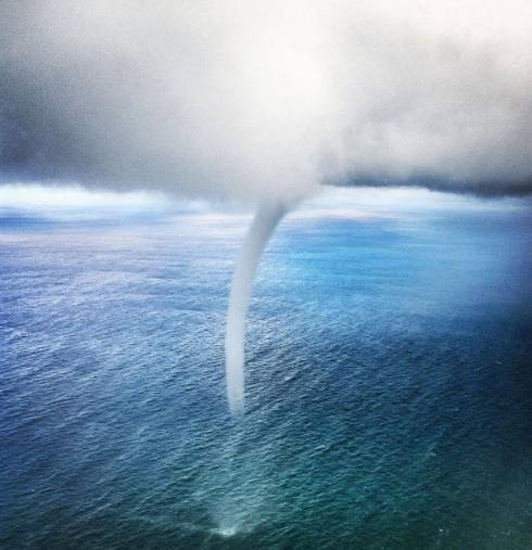 Twister Touches Down on Beirut Coast