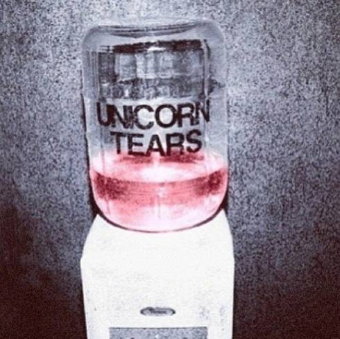Unicorn Tears Taste Suspiciously Like Water