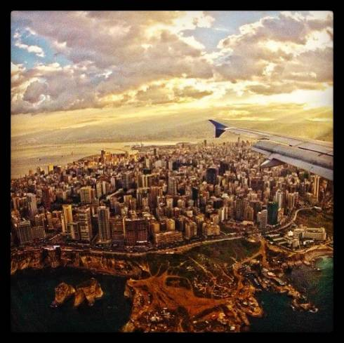 Beirut Stuns From Above