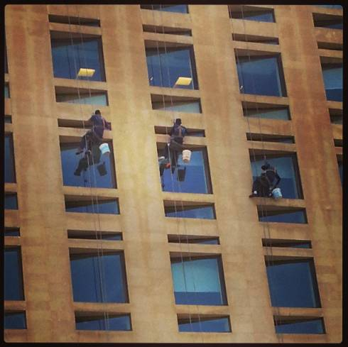Thank God For Window Cleaners